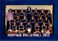 Heritage JH Volleyball 5x7