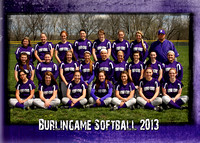 Burlingame Softball 5x7
