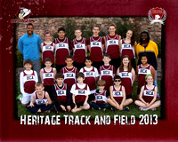 HCA track and field 8x10