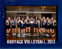 Heritage HS Volleyball 8x10