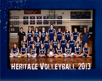Heritage JH Volleyball 8x10