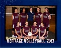 Heritage JV Volleyball 8x10