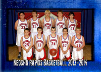Neosho Rapids JH Bball and Cheer