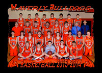 Waverly HS Basketball and cheer