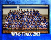 West Franklin MS Track