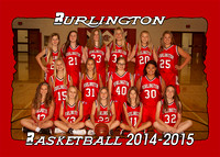 Burlington MS Girls Basketball